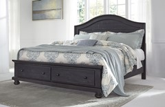 King Storage Beds