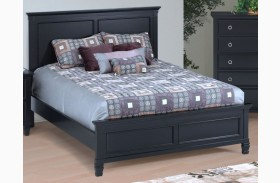 Tamarack Black Platform Bed