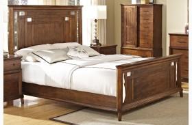 Clark's Crossing African Honey Panel Bed
