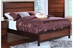 Bishop African Chestnut /Ginger Youth Panel Bed