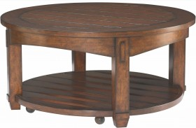 Tacoma Medium Brown Cocktail Table