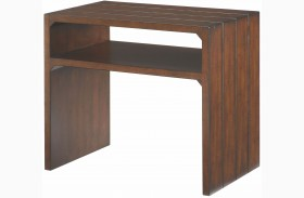 Tacoma Medium Brown End Table
