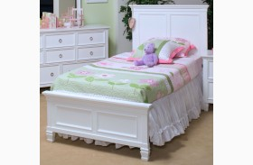 Tamarack White Youth Platform Bed