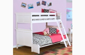 Tamarack White Bunk Bed