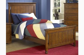 Sawmill Youth Cocoa Youth Panel Bed