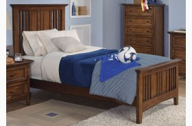Logan Spice Youth Panel Bed