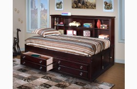 Victoria Espresso Youth Lounge Bed