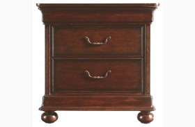 Portfolio Louis Philippe Nightstand