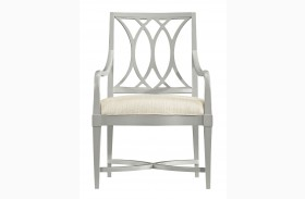 Coastal Living Resort Morning Fog Finish Heritage Coast Arm Chair