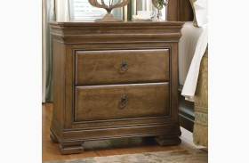 New Lou 3 Drawer Nightstand