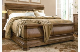 New Lou Louie Philips Sleigh Bed