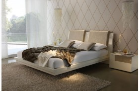 Diamond Ivory Bed