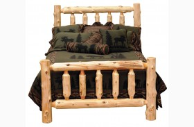 Cedar Youth Log Bed