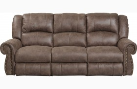 Westin Ash Finish Reclining Sofa