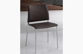 Ice Leather Dining Chair Set of 2