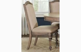Ilana Cream Finish Side Chair Set of 2
