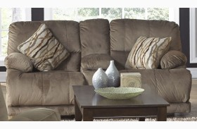 Riley Musk Reclining Loveseat with Console