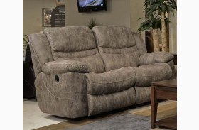 Valiant Marble Reclining Loveseat