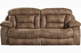 Desmond Mushroom Reclining Sofa