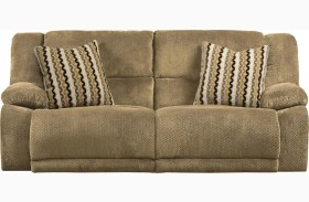 Hammond Coffee Reclining Sofa