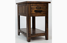 Cannon Valley 1 Drawer Chairside Table