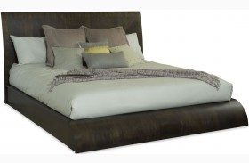 Novara Charcoal Fnish Tasca Platform Bed