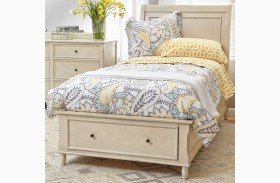Avignon Ivory Youth Storage Bed
