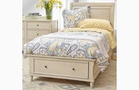 Avignon Ivory Youth Storage Bed