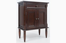 Avignon Birch Cherry Finish Nightstand