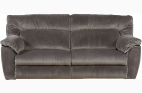 Nichols Granite Finish Reclining Sofa