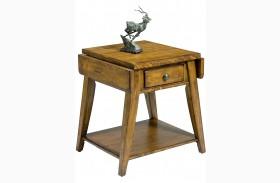 Treasures Splay Leg End Table