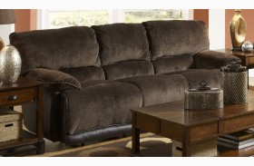 Escalade Chocolate Reclining Sofa