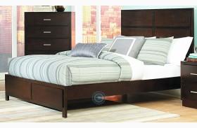 Vernada Panel Bed