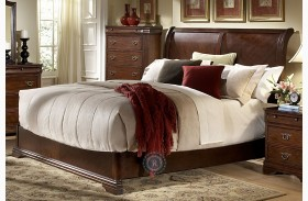 Karla Sleigh Bed