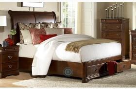 Karla Sleigh Storage Bed