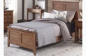 Grandpa's Cabin Aged Oak Youth Panel Bed