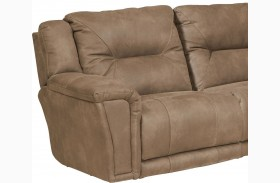 Montgomery Cement Finish LAF Recliner