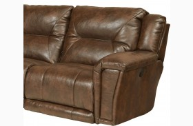 Montgomery Timber Finish LAF Recliner