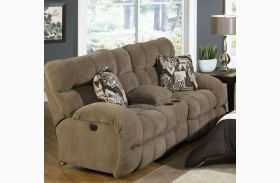 Siesta Porcini Reclining Loveseat with Console