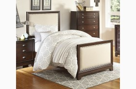 Bernal Heights Warm Cherry Youth Panel Bed