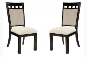 Gateway Brown and Grey Side Chair Set of 2