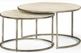Modern Basics Natural Travertine Cocktail Table