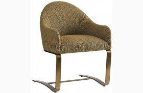 Cross Effect Gold Icon Desk Chair