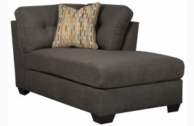 Delta City Steel Gray Corner Chaise