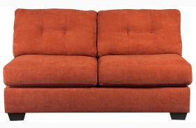 Delta City Rust Loveseat