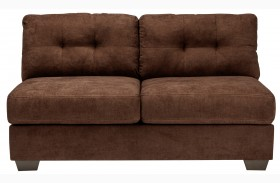 Delta City Chocolate Loveseat