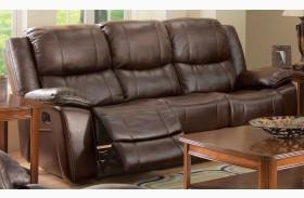 Kenwood Premier Brown Sofa