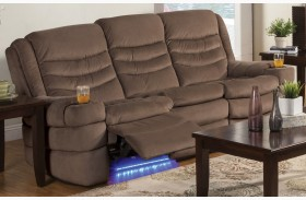 Rolling Hills Tan Sofa