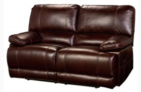 Wyoming Newark African Chestnut Loveseat