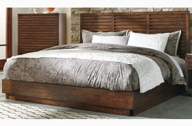Avery Aged Bourbon Finish Platform Bed